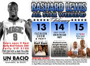 Rashad Lewis All-Star Weekend!!!