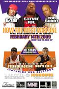 NBA ALL STAR WEEKEND PARTY  SAT FEB 14TH @ THE ICE HOUSE AZ E-40,TOO SHORT,STEVIE JOE,GARY PAYTON,GOLDEN STATE WARRIORS STEPHEN JACKSON ,MONTA ELLIS