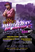 DJ Kaj Boogie's Birthday Blowout