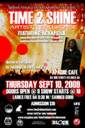 TIME 2 SHINE ARTIST SHOWCASE