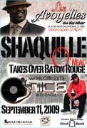 Shaquille O'neal Takes Over Baton Rouge