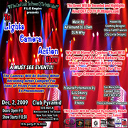 BX'S MIKE M.O.E.T A FEATURED PERFORMER@ THE LIGHTS, CAMERA, ACTION, SHOW@ CLUB PYRIMID