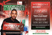 BET's 106 & Park Host, Terrence J, The Women in Entertainment Empowerment Network, 2009 Holiday Party & Toy Drive