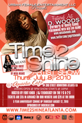 TIME 2 SHINE FT D. WOODS & SONYA WILLIAMS