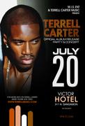 TERRELL CARTER ALBUM RELEASE PARTY/ CONCERT