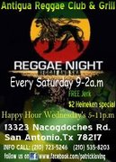 Saturday Reggae Nights