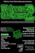 "WISDOM COURT ENT.'S ""WELCOME 2 THE COURT, VOL. 11"", SEPT. 23RD @ SONAR!"