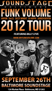 """Billy Lyve opening for """"Hopsin: The Funk Volume 2012 Tour"""" at Baltimore SoundStage!"""