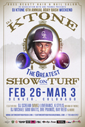DJ KTONE 6TH ANNUAL BDAY BASH WEEKEND: THE GREATEST SHOW ON TURF
