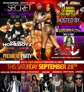 """SAT 9/28 BET WKND BLOWOUT @STILETTOS HOSTED BY @PASTORTROYDSGB CELEBRATING HIS MOVIE RELEASE """"WE WAS HOMEBOYZ"""" & @BORNLOVELY1 +OVA60DANCERS!!"""