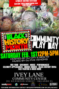 Black History Month Community Play Day