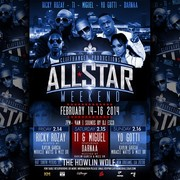 Cliffhanger All Star presents The BIGGEST ALL STAR WEEKEND EVENTS at The HOWLIN WOLF [3 DAYS]