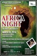 WVU AFRICA NIGHT 2014