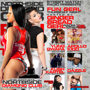 3/20 FUN GERL THURSDAYS @Diamond_Club_ATL HOSTED BY @STREETWATCHFM @GINGERBREADGERL & @LILBANKHEAD945