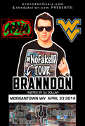 #NOFAKEID TOUR OF @THEBRANDDON HOSTED BY DJ DOLLAR