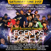 The Core DJ's & Mke Legends Presents the SummerJam (Legends Edition #8) 30 & Older