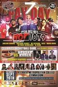 9/20 PAY USA's BET HIP-HOP AWARDS CELEBRITY BASKETBALL GAME FEATURING HOT 107.9'S HOT-SHOTS VS 2CHAINZ STREET EXECS ALL-STARS @MetropolitanCollege !!