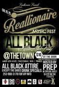 REALLIONAIRE MUSIC FEST ALL BLACK AFFAIR AFTER PARTY