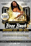 BOSS BASH OCT 3RD