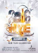 New Years Eve at Luna Lounge on the Las Vegas Strip