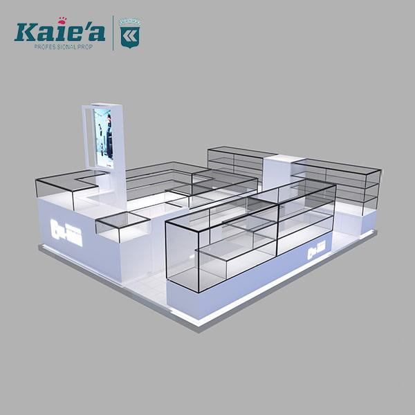 Custom jewellery shop counter design