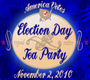 America Votes Election Day Tea Party