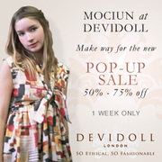 DeviDoll's 1st POP-UP SALE!!
