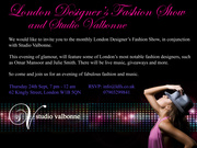 London Designers Fashion Show @ Studio Valbonne5