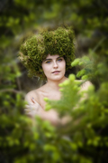 Eco-fashion Show in the Forest