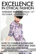 EXCELLENCE IN ETHICAL FASHION - EXCELLENCE TRAINING DAY