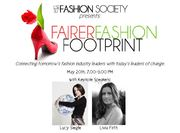 LSE Fashion Society's FAIRER FASHION FOOTPRINT with LIVIA FIRTH & LUCY SIEGLE