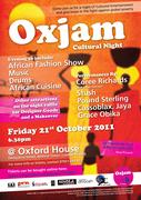 Oxjam Cultural Event