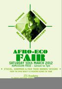 AFRO ECO FAIR II, SATURDAY 1Oth MARCH 2012