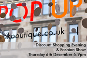 Think Boutique Christmas pop-up launch party