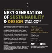 Open Table Discussion at NEXT GENERATION OF SUSTAINABILITY & DESIGN