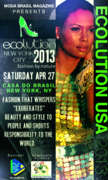 Ecolution USA Fashion show NYC