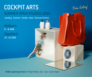 Open Studios at Cockpit Arts Holborn - Summer Shopping Event & Textile Workshops