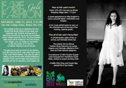 Fair Fashion Gala : Saturday 21st June 7-11pm.