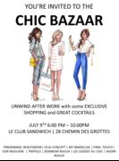 MY MARACUJA invites to the CHIC BAZAAR (Geneva)