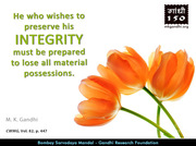 Thought For The Day ( INTEGRITY )