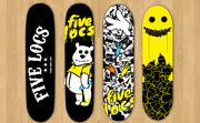 SEEK PEEK - Skateboard Deck