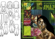 """""""Afternoon in the Amazon"""" First View- Fashion Design"""