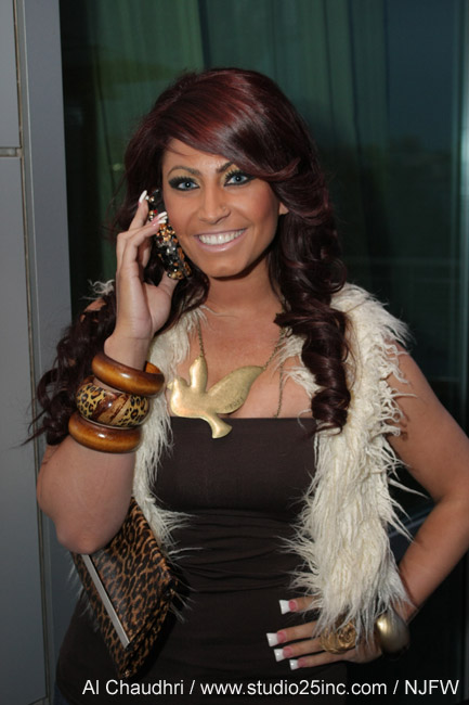 NJFW March Mixer - Tracy DiMarco from jerseylicious
