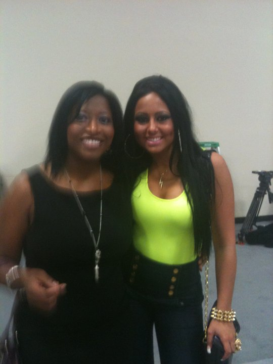 donnella and olivia from Jerseylicious NJFW episode
