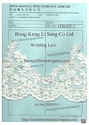 Lace And Trims Manufacturer, Wholesale and Supplier - Hong Kong Li Seng Co Ltd
