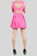 Hot Pink Sweetheart Valentine special Skater Dress