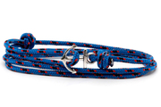anchor bracelet  dark blue16-1