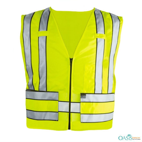 Zippered Front Police Safety Vests