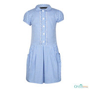 Cottage Weave Blue Dress Manufacturer