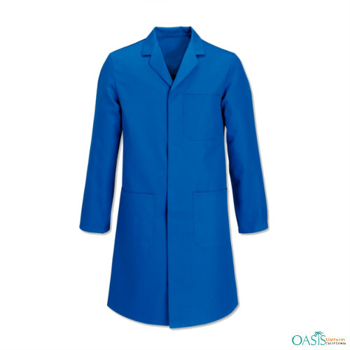 Cobalt Blue Medical Lab Coat